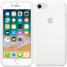 Чехол силиконовый для iPhone 7/8 Белый