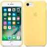 Чехол силиконовый для iPhone 7/8 Желтый