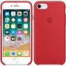 Чехол силиконовый для iPhone 7/8 Красный