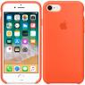 Чехол силиконовый для iPhone 7/8 Оранжевый