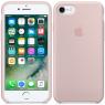 Чехол силиконовый для iPhone 7/8 Светло Розовый