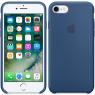 Чехол силиконовый для iPhone 7/8 Синий