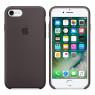 Чехол силиконовый для iPhone 7/8 Темно Серый