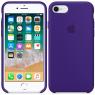 Чехол силиконовый для iPhone 7/8 Фиолетовый