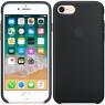 Чехол силиконовый для iPhone 7/8 Чёрный