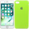 Чехол силиконовый для iPhone 7/8 Ярко зеленый