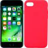 Чехол силиконовый для iPhone 7/8 Ярко розовый