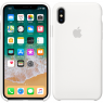 Чехол силиконовый для iPhone X/Xs Белый