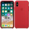 Чехол силиконовый для iPhone X/Xs Красный