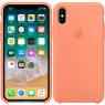 Чехол силиконовый для iPhone X/Xs Светло Оранжевый