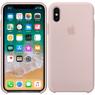 Чехол силиконовый для iPhone X/Xs Светло Розовый