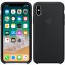Чехол силиконовый для iPhone X/Xs Темно Серый