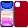 Чехол силиконовый для iPhone 11 Pro Max Бордовый