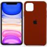 Чехол силиконовый для iPhone 11 Pro Max Коричневый