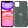 Чехол U-like Glossy Logo series для iPhone 11 Pine Green