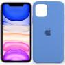 Чехол силиконовый для iPhone 11 Pro Max Морской Синий