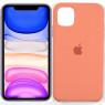 Чехол силиконовый для iPhone 11 Pro Max Персиковый