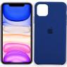 Чехол силиконовый для iPhone 11 Pro Max Синий