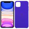 Чехол силиконовый для iPhone 11 Pro Max Фиолетовый