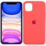Чехол силиконовый для iPhone 11 Pro Max Ярко Розовый