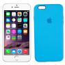 Чехол силиконовый для iPhone 6/6s Plus Небесно Синий FULL