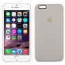 Чехол силиконовый для iPhone 6/6s Plus Серый FULL