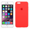 Чехол силиконовый для iPhone 6/6s Plus Ярко розовый FULL