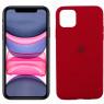 Чехол силиконовый для iPhone 11 Pro Max Вишневый FULL