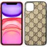 Чехол U-like Fashion series для iPhone 11 Gucci Light Brown