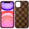 Чехол U-like Fashion series для iPhone 11 LV Squares Brown