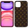 Чехол U-like Fashion series для iPhone 11 LV Small Stars Brown