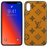 Чехол U-like Fashion series для iPhone Xs LV Large Stars Gold