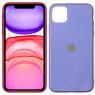 Чехол U-like Glossy Logo series для iPhone 11 Lavander Grey