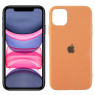 Чехол U-Like Glossy Logo series для iPhone 11 Peach