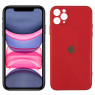 Чехол U-Like Glossy Logo series для iPhone 11 Pro Max Red orchid