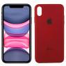 Чехол U-Like Glossy Logo series для iPhone Xs Max Red orchid
