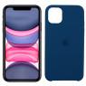 Чехол силиконовый для iPhone 11 Индиго