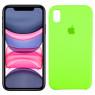 Чехол силиконовый для iPhone Xr Салатовый