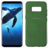 Чехол силиконовый для Samsung G950 Galaxy S8 Темно Зеленый FULL