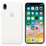 Чехол силиконовый для iPhone Xr Белый