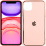 Чехол U-like Glossy Logo series для iPhone 11 Pink