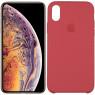Чехол силиконовый для iPhone X/Xs Кораловый