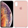 Чехол силиконовый для iPhone Xr Светло Розовый