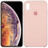 Чехол силиконовый для iPhone Xr Розовый