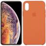 Чехол силиконовый для iPhone Xr Оранжевый