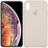 Чехол силиконовый для iPhone Xr Бежевый