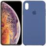 Чехол силиконовый для iPhone Xr Синий