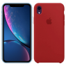 Чехол силиконовый для iPhone Xr Бордовый